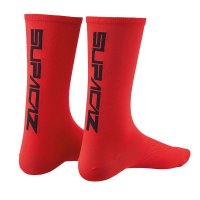 Par calcetines supacaz supasox straight up rojo