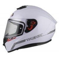 casco integral nzi TRENDY SOLID NOUVEAU WHITE