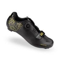 zapatillas carretera ges roadster-2 negro-amarillo