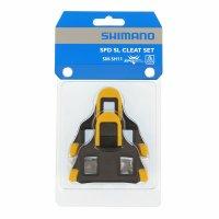 Calas Pedal SPD-SL SH11 Amarillas 6 grados