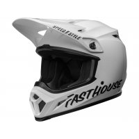 Casco Bell MX-9 MIPS Fasthouse Blanco