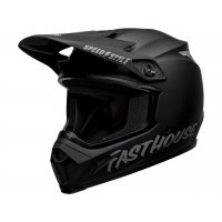 Casco Bell MX-9 MIPS FASTHOUSE Negro Mate/Gris