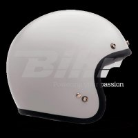 CASCO BELL CUSTOM 500 DLX BLANCO (Incluye bolsa de piel)