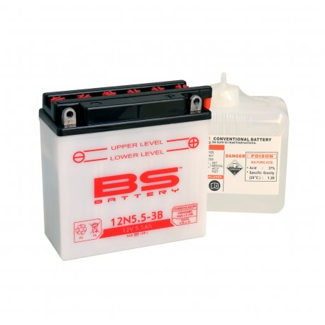 Batería BS Battery 12N5.5-3B