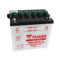 Batería Yuasa Y60-N24L-A Combipack (con electrolito)