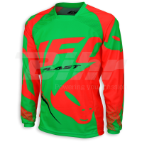 Camiseta UFO Made in Italy Sequence Verde/Rojo 2018