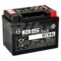 Batería BS Battery BTX4L (FA)