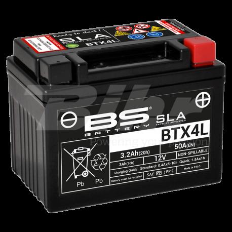 Batería BS Battery BTX4L (FA)