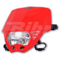 Careta UFO homologada Cruiser rojo PF01707-070