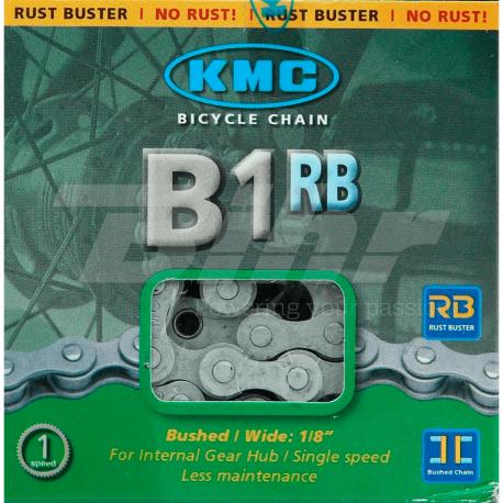 Cadena KMC B1RB 112 Pasos 1V Antioxidante