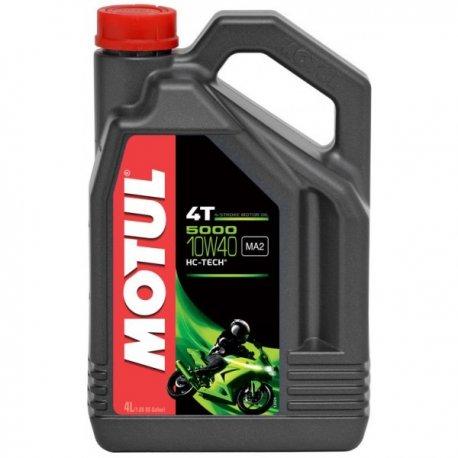Aceite Motul 4T 5000 10w40 Garrafa 4 litros