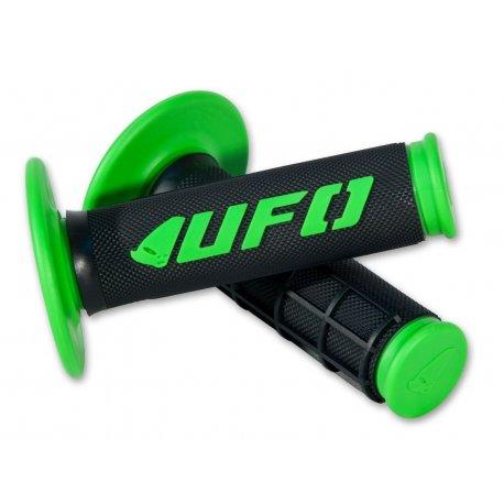 Puños UFO cross / enduro Challenger verde