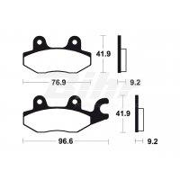 381880 - Pastillas de freno Tecnium MA188 Orgánicas