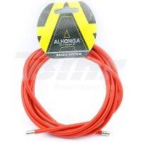 Funda cable acero laminado Ø5 Rojo 2m