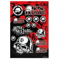 PEGATINA METAL MULISHA (45X31)