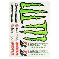 Pegatina monster-bridgestone-motul-brenbo