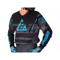 Camiseta ANSWER Elite Force Antracita/Negro/Azul