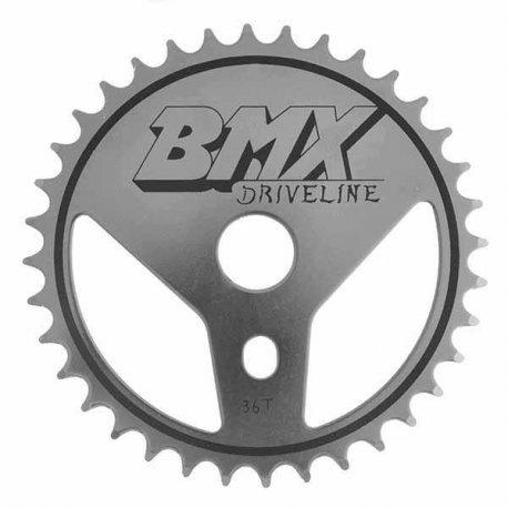 PLATO ACERO BMX 36 DIENTES