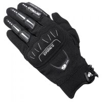 Guantes motocross held blackflip negro