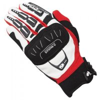 GUANTES DE MOTOCROSS HELD BACKFLIP BLANCO-ROJO