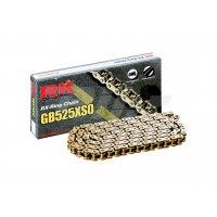 Cadena RK GB525XSO con 60 eslabones oro