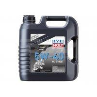 Garrafa 4L aceite sintético HC Liqui-Moly 5W-40 Street