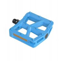 "PEDALES BMX NYLON AZUL 9/16"" 110X100MM UNION"