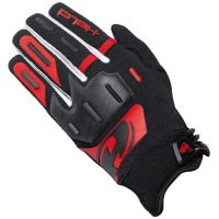 Guantes cross held hardtack negro-rojo