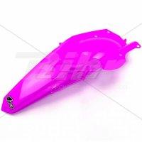 Guardabarros trasero UFO Yamaha rosa fluor