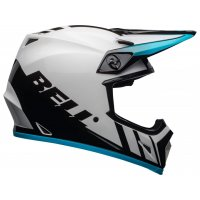 Casco Bell MX-9 MIPS Dash Blanco/Azul