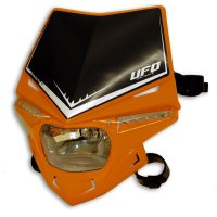 Careta UFO homologada Stealth naranja