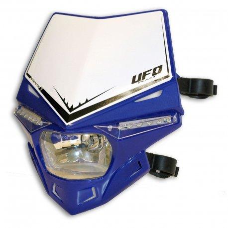 Careta Portafaro UFO Homologada Stealth Azul