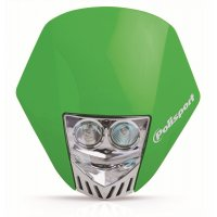 Careta Polisport HMX LED verde