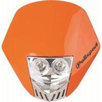 Careta Polisport HMX LED Naranja
