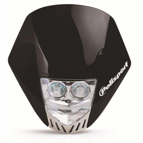 Careta Polisport HMX LED Negro