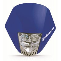 Careta Polisport HMX LED Azul