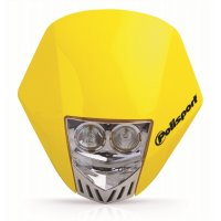 Careta Polisport HMX LED amarillo