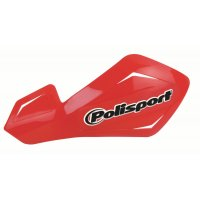 Paramanos abierto Polisport Freeflow lite aluminio rojo
