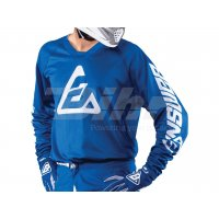 LIQUIDACION Camiseta ANSWER Elite Solid Azul
