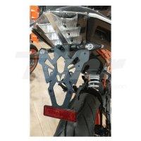 Portamatrículas KTM 125-200-390 DUKE negro