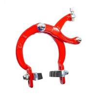 Frenos herradura bmx, 2pcs aluminio rojo