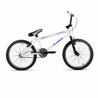 "BMX 20"" ACERO D/AHEAD TECNOLOGY BLANCO/AZUL + CASCO REGALO"