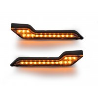 Kit intermitentes LED luz ambar, paramanos Barkbusters JET, VPS,STORM